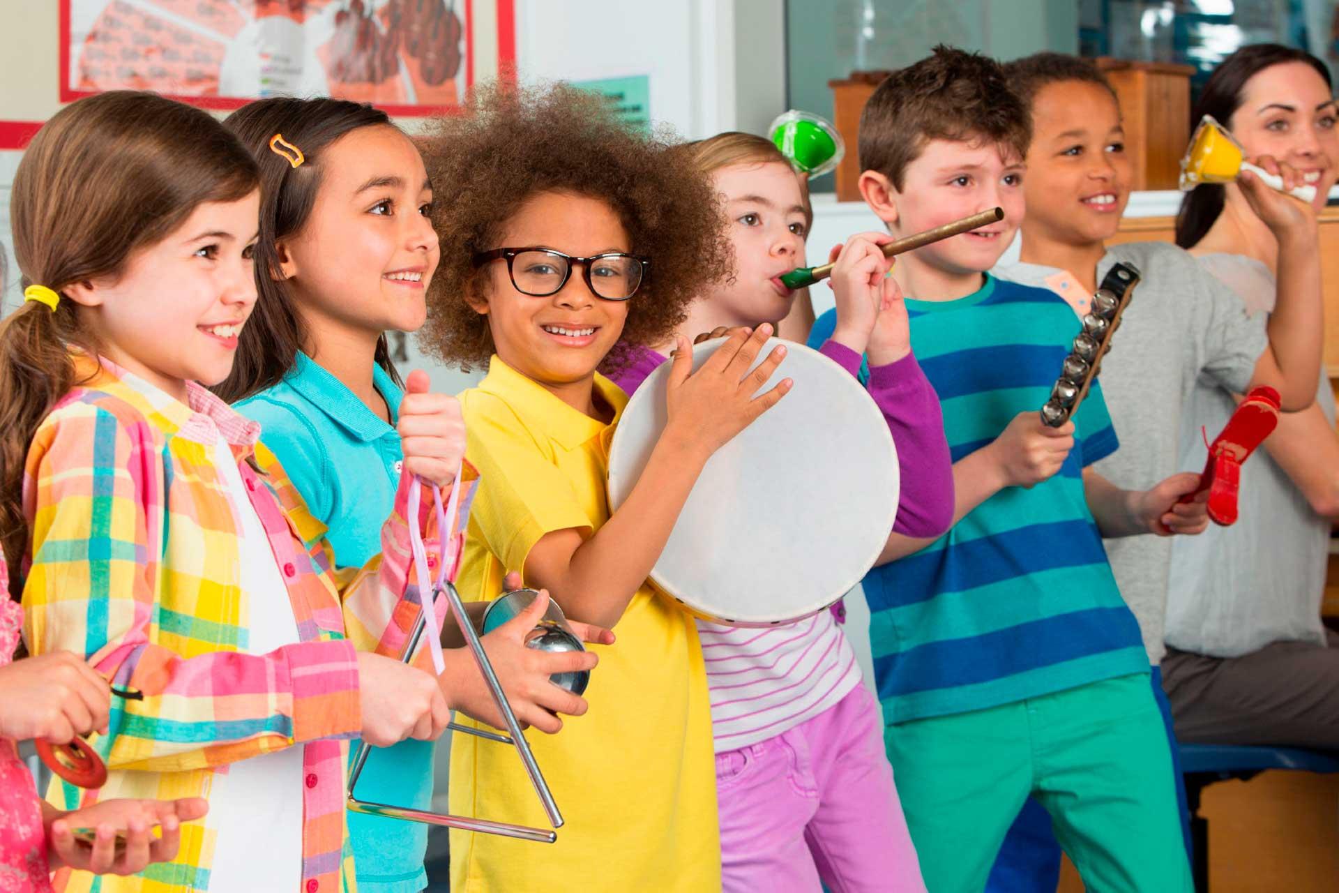 Iniciación musical de 2-5 años